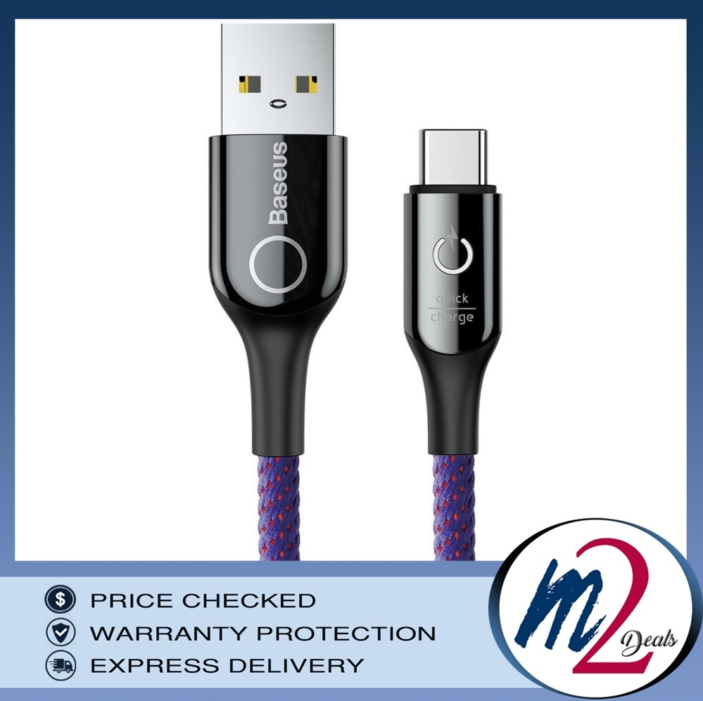 C-shaped Light Intelligent power-off Cable USB Type-C  1M_1_PURPLE.jpg