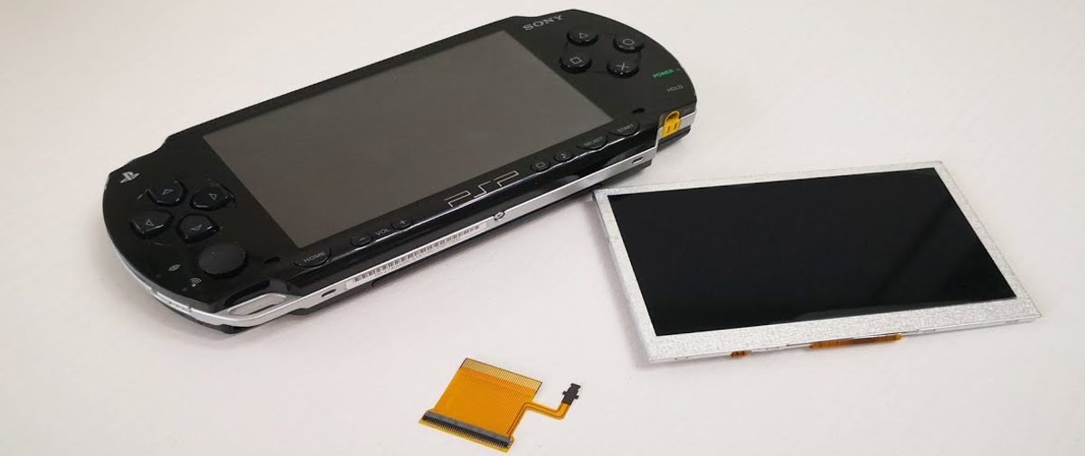 Sony PSP 1000 IPS Screen Replacement