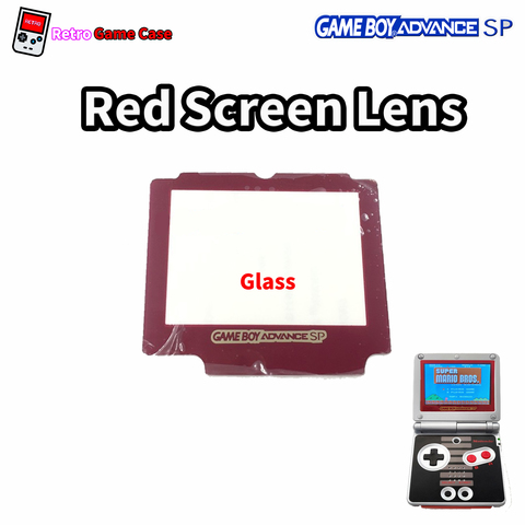 My_retro_game_case_Gameboy_Advance_Sp_Red_Glass_Screen_Lens.jpg