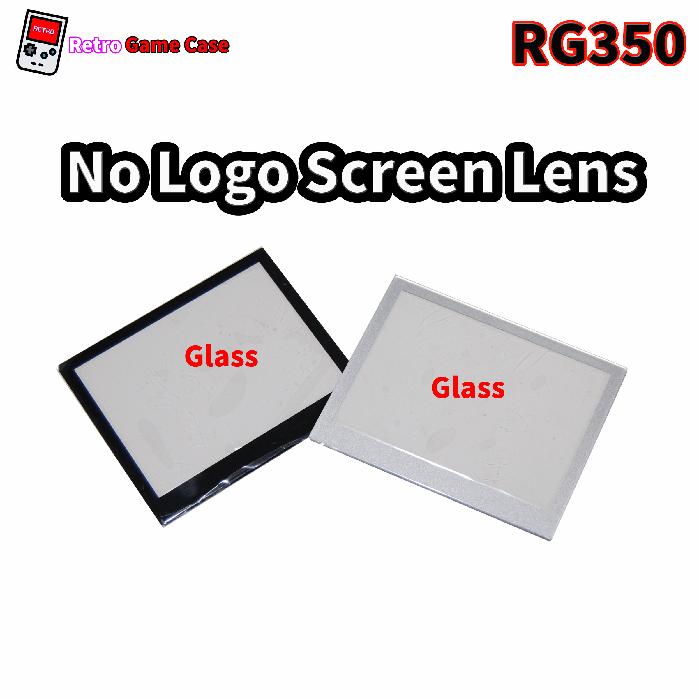 RG350 Handheld Gaming Consoles Screen Lenses Without LOGO (Glass)