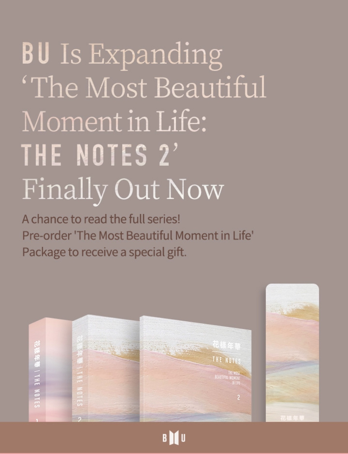 BTS The Notes 2 Packaged (Official Weverse) - Goyangi ...