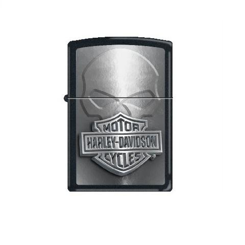 Zippo Harley-Davidson Silver Skull.jpg