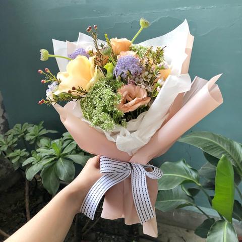 A.粉色包裝花束-2.JPG