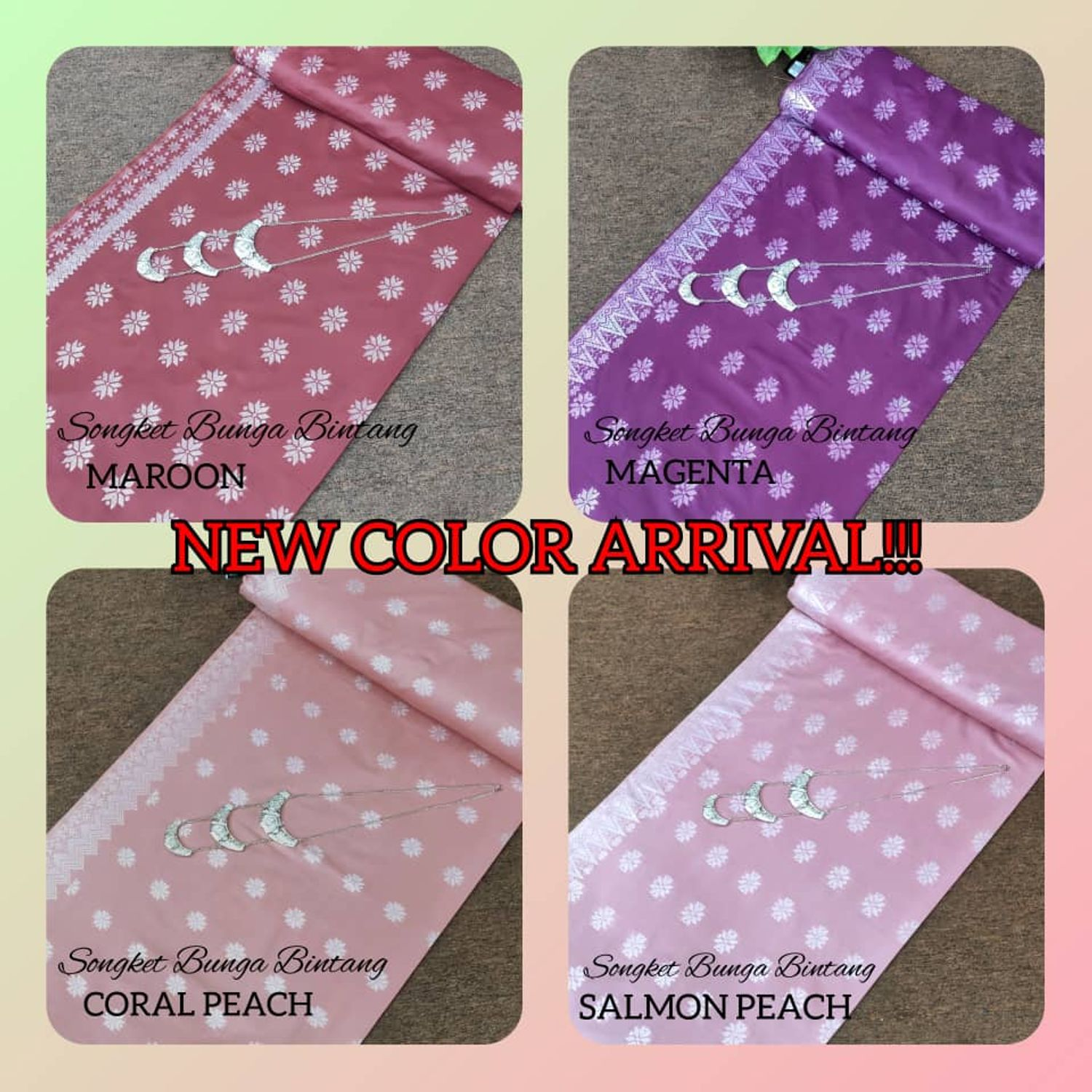 NEW ARRIVAL!! NEW COLOUR!!!