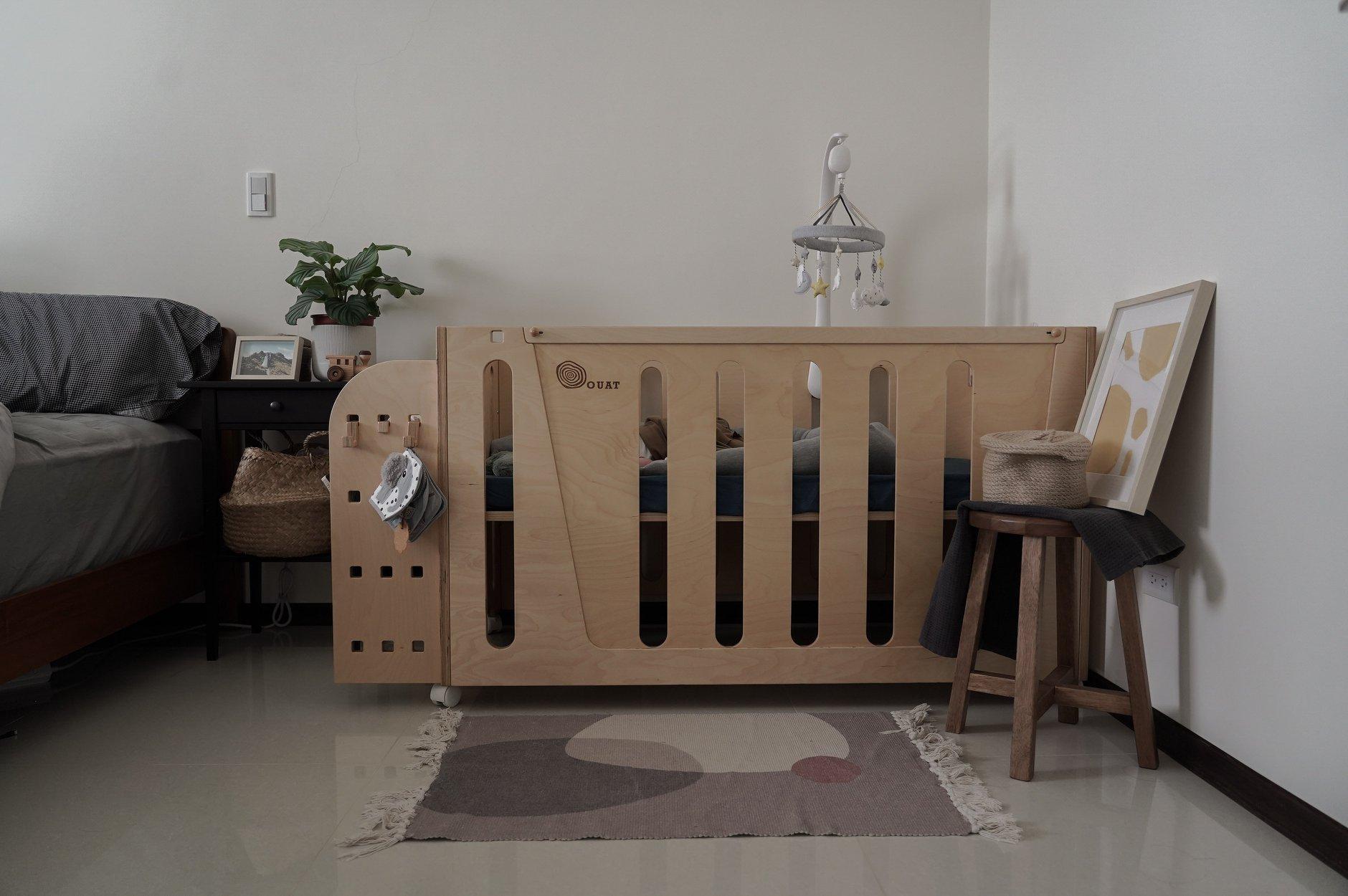 Woodpecker啄木鳥四合一遊戲成長床_孩記得嬰兒床_床邊床_遊戲床