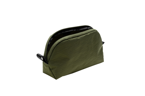 302202540 Stash Pouch - XPAC Olive Green Open1.jpg