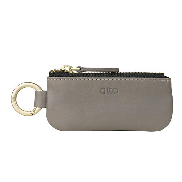 Alto 皮革鑰匙環零錢包 – 礫石灰1 - 金念慈.jpeg