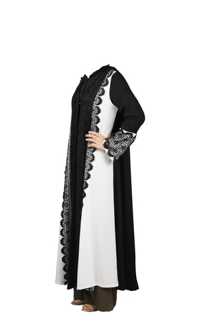 FSHTU011800048 Turkish Jubah - Black & White With Embroidery B.jpg