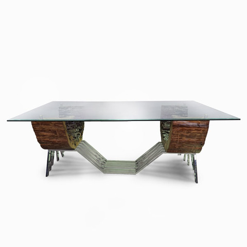 Artistic Chengal with Glass Top Dining Table (5).jpg