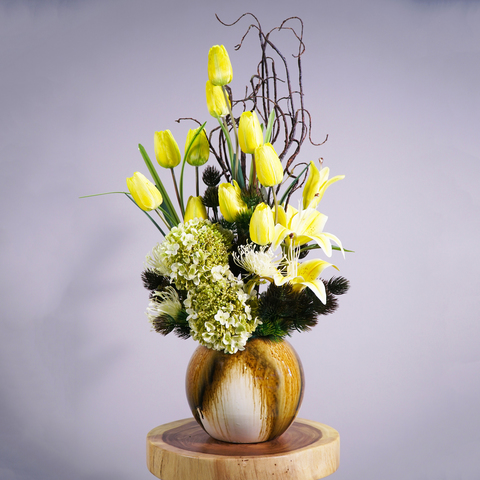 Yellow Tulip Flower Decor.jpg