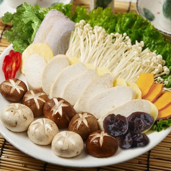 Hong Kong Hotpot | Menu - 蔬菜,菇類 / Vegetable, Mushroom