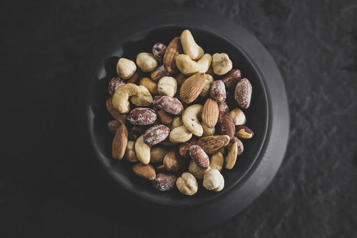 堅果是方便的健康零食