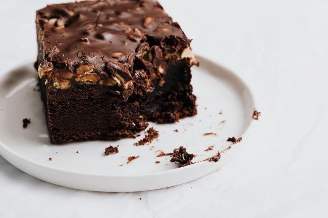 巧克力杏仁蛋糕