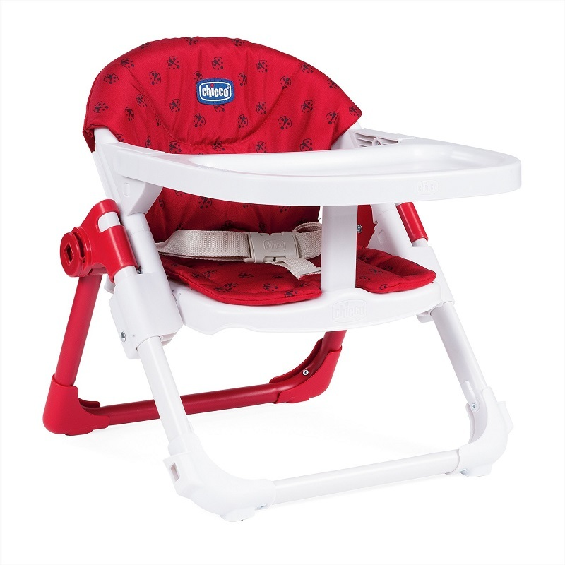 Chicco Chairy Booster Seat - LadyBug (Red)
