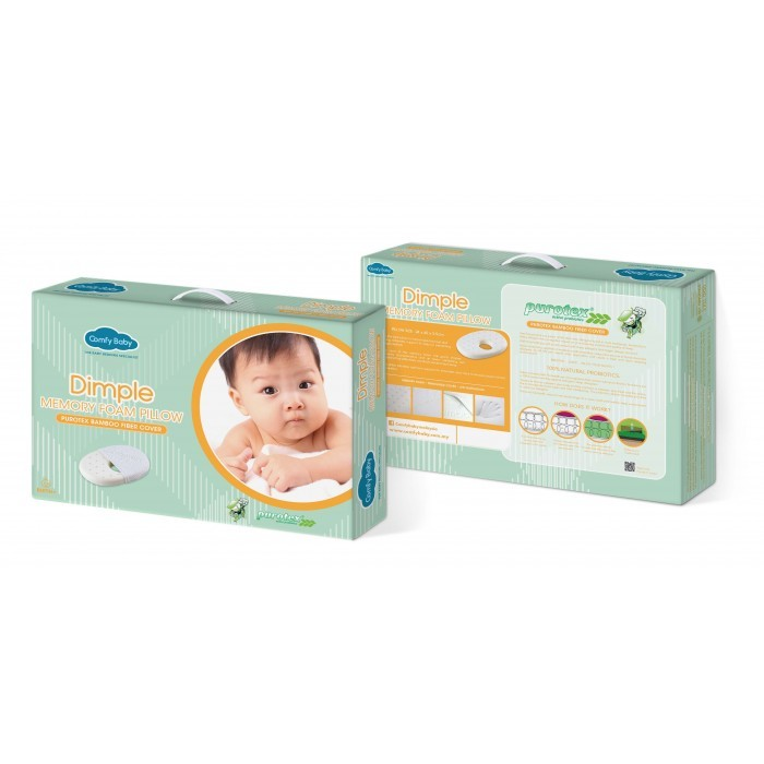 Comfy Baby Dimple Memory Foam Pillow