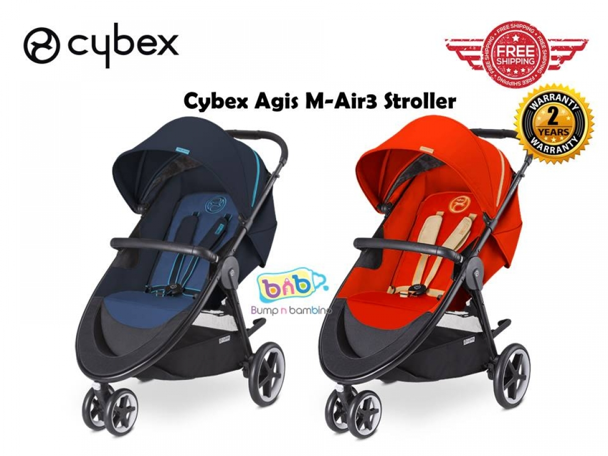 cybex agis m air3 stroller bump n bambino. Black Bedroom Furniture Sets. Home Design Ideas