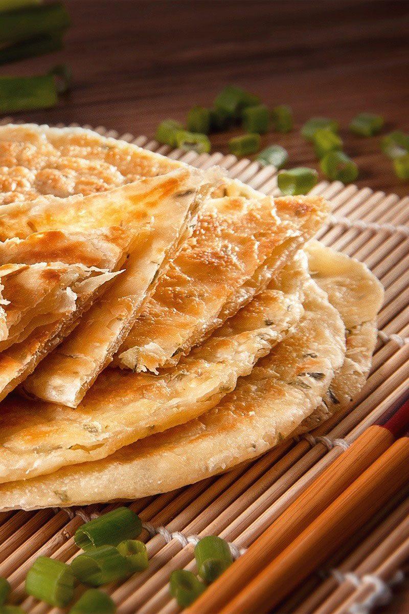 Products-Flat-Bread-Roti-Pratha-spring-onion-Pratha-product-Presentation