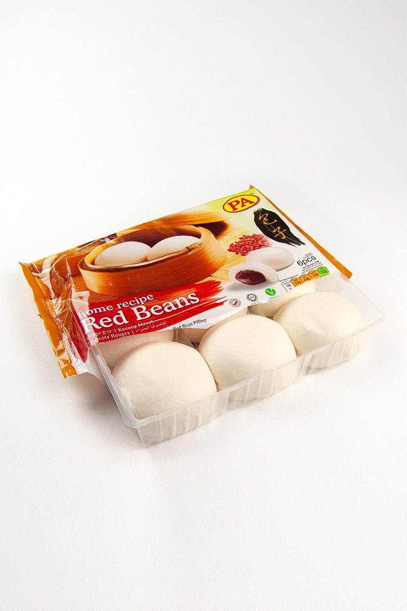 Products-steamed-bun-red-bean-product-with-packaging