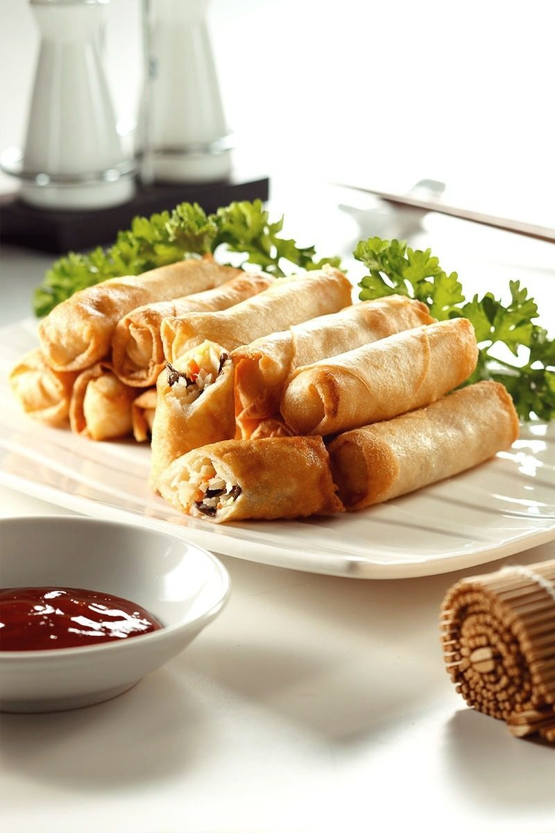 Products-Finger-Food-Vegetable-Spring-Roll-product-Presentation