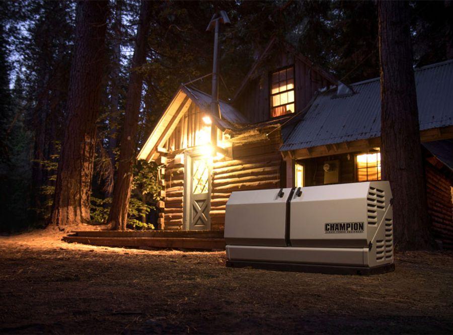 謙品綠色動力 | 家用燃氣備用發電機