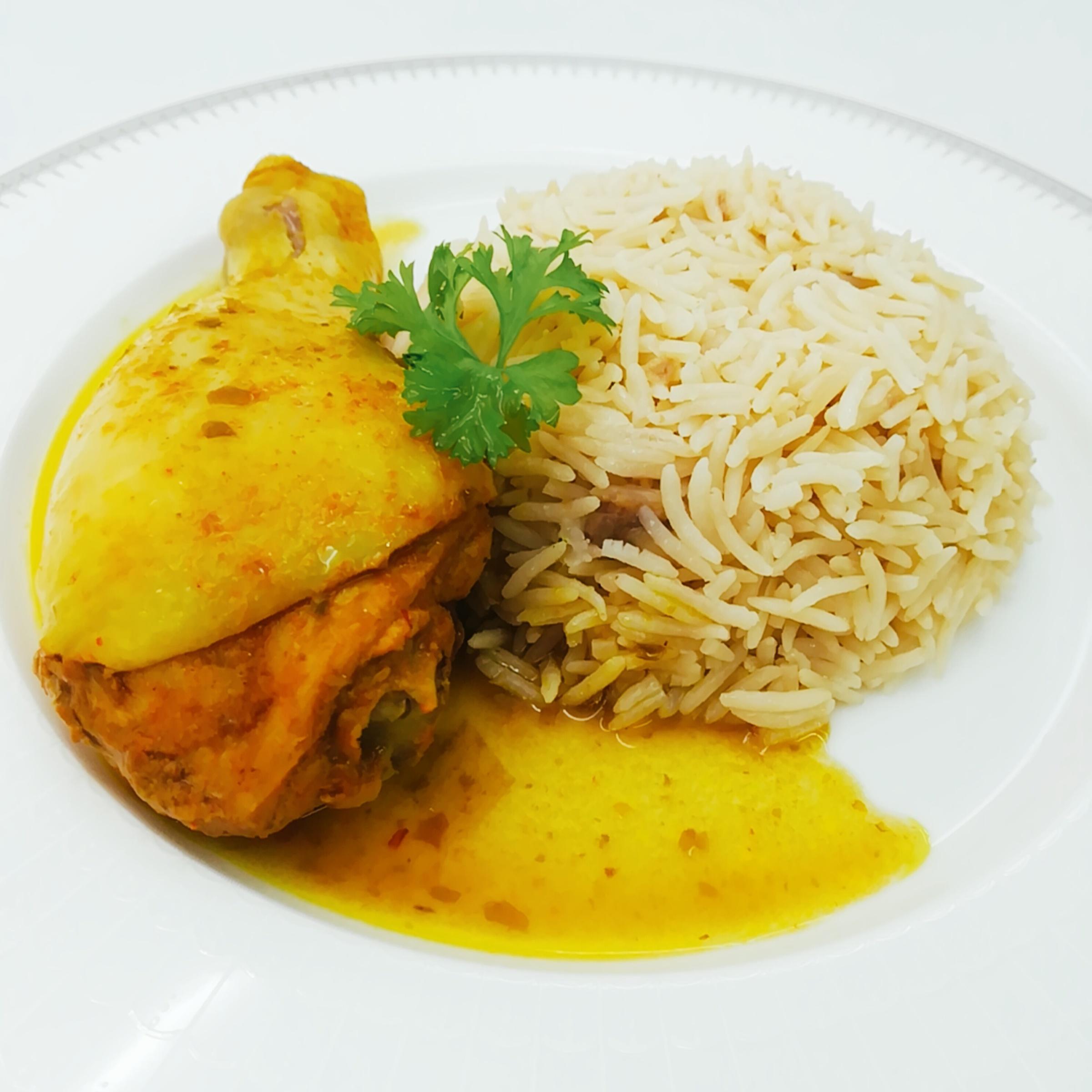Ayam Masak Lemak Cili Api dengan Nasi Minyak Basmati – Gocer E-Mart