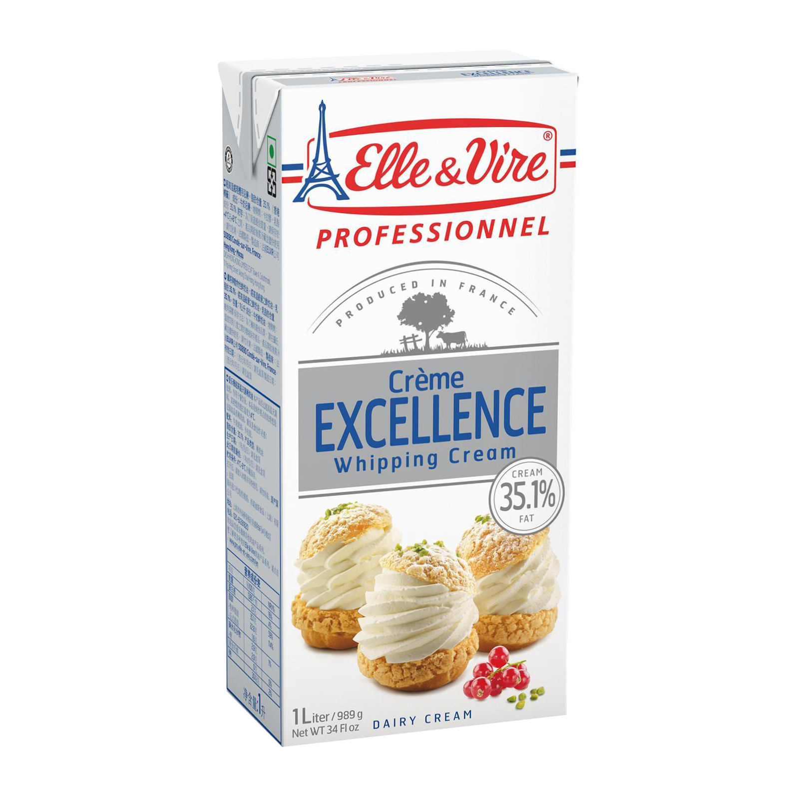 Elle & Vira Whipping Cream 35% Fat 1L  a.png