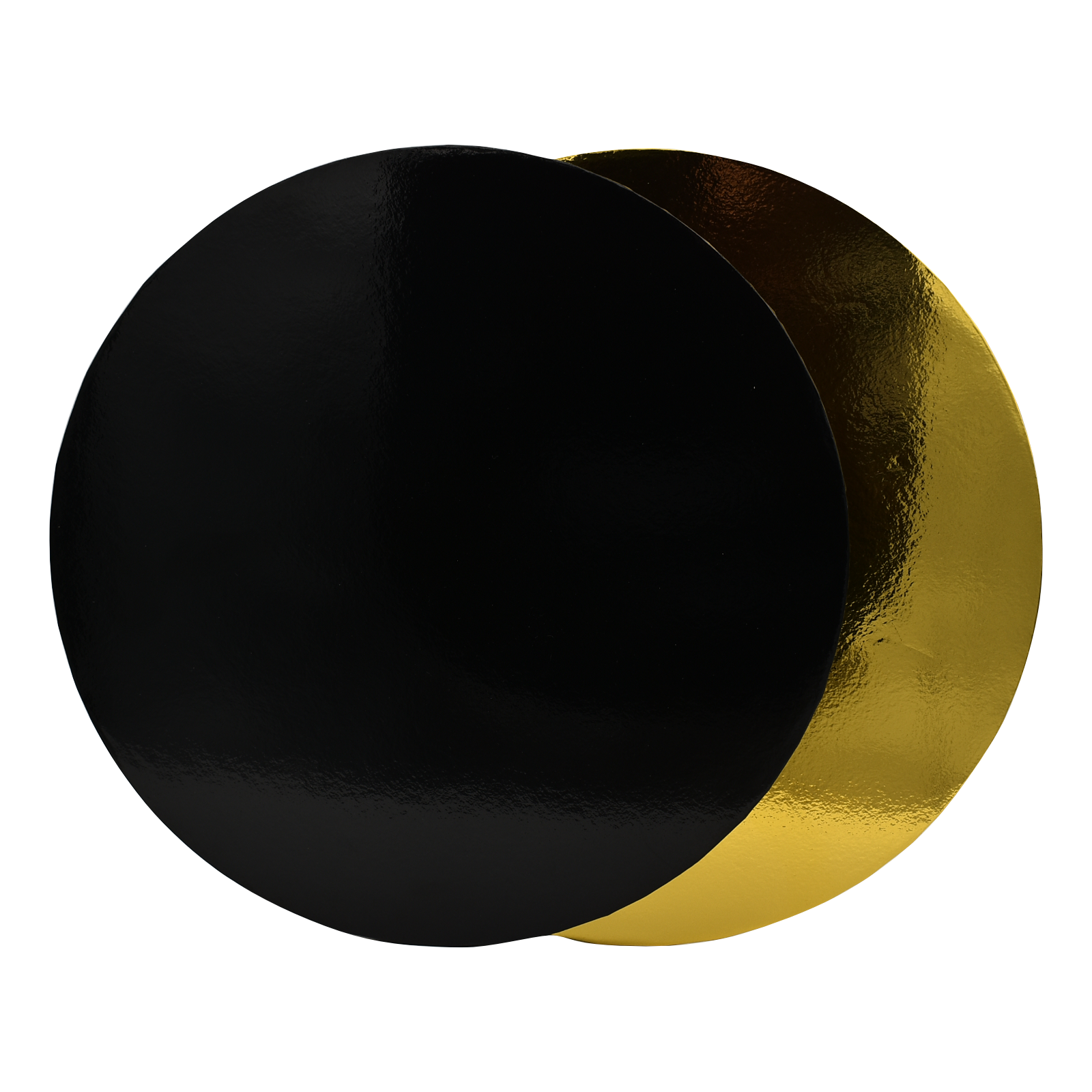 Cake Board Round & Gold.png