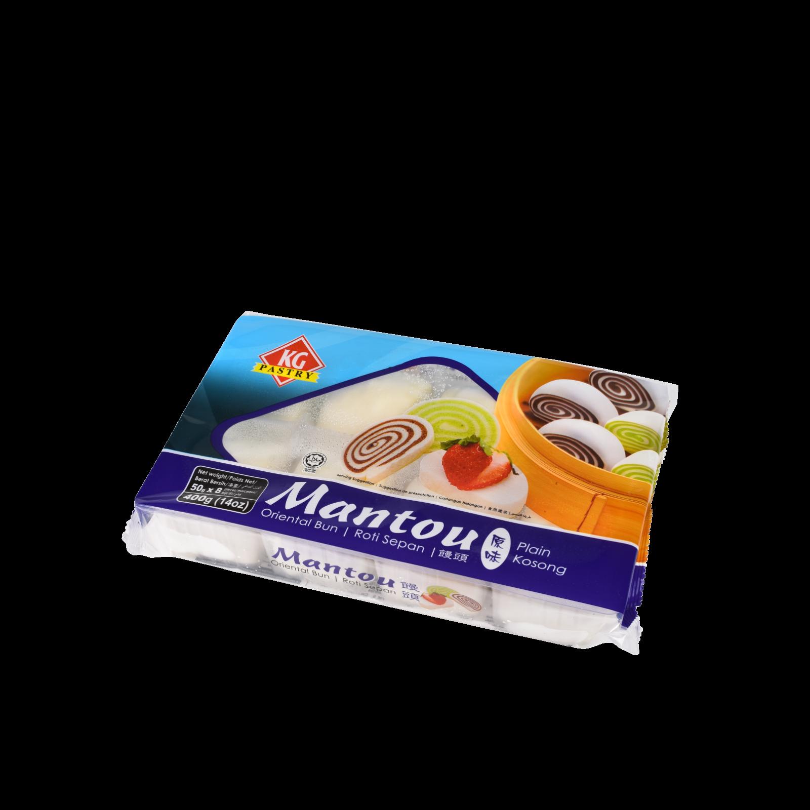 KG Pastry Mantou (50g x 8) 400g 14oz.png