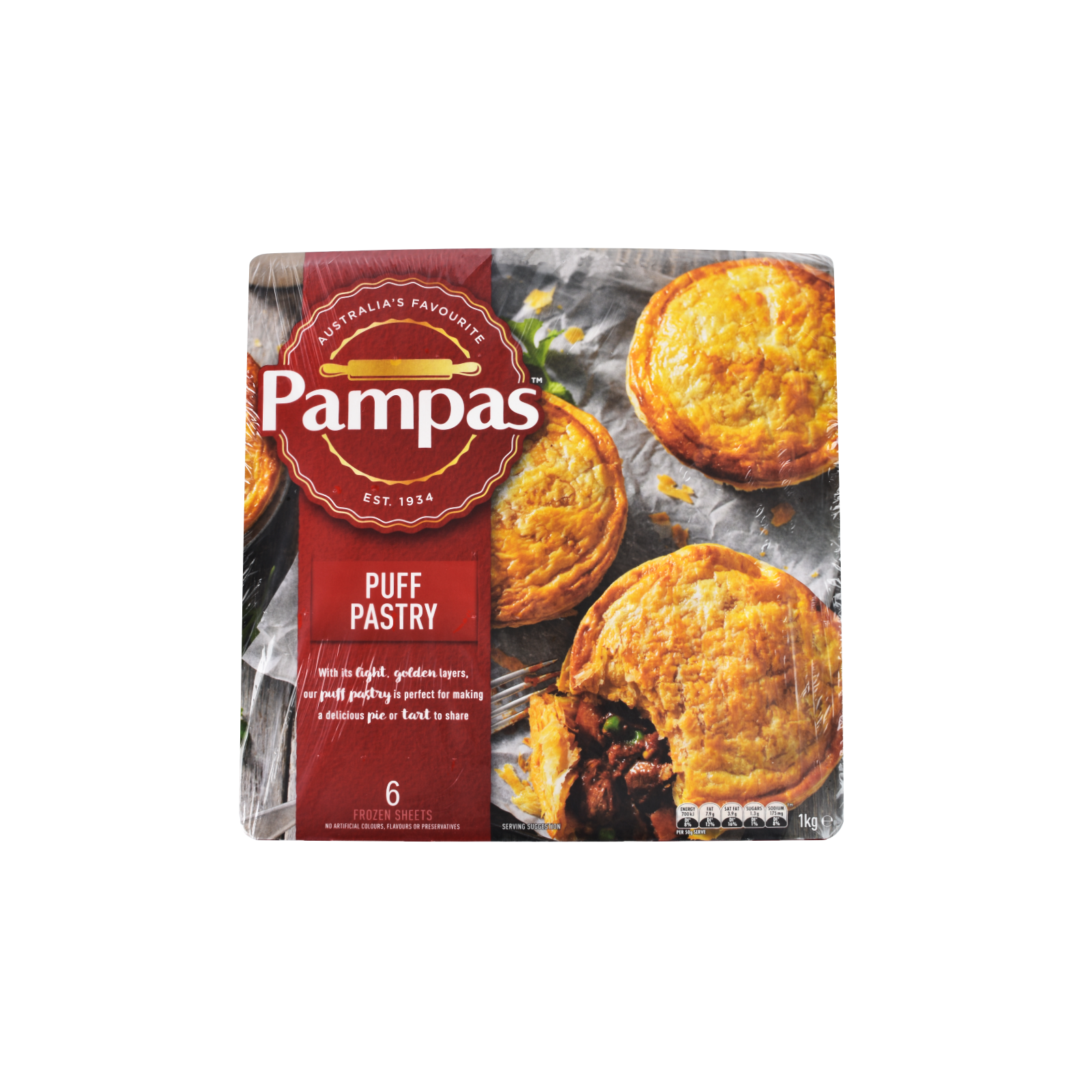 Pampas Puff Pastry 1KG.png
