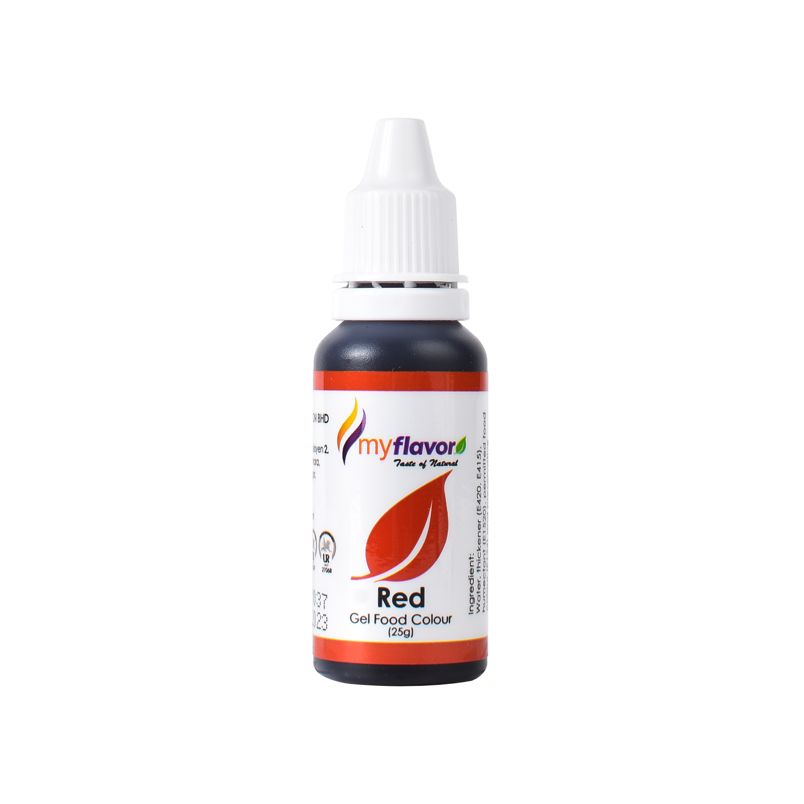 My Flavor Red Gel Food Colour 25g.png