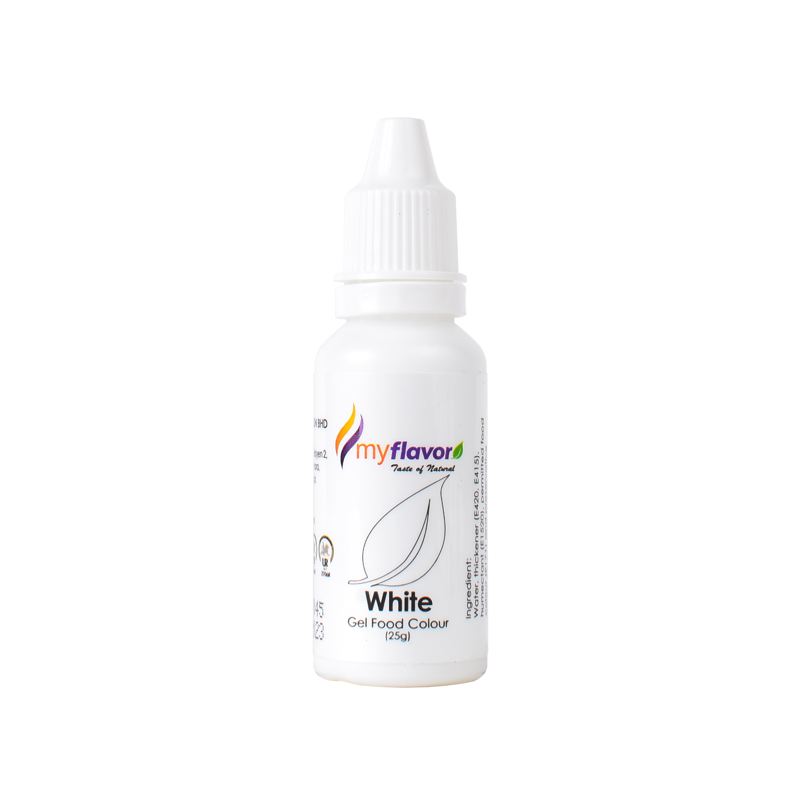 My Flavor White Gel Food Colour 25g.png