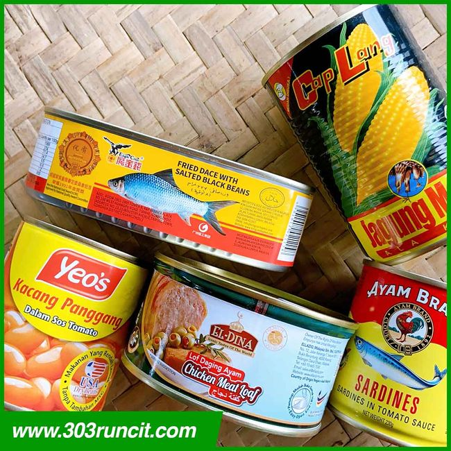 303 Runcit - Groceries Convenience Store |  - Canned Food