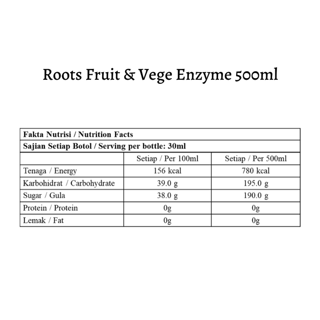 Roots Fruit & Vege Enzyme 500ml.png