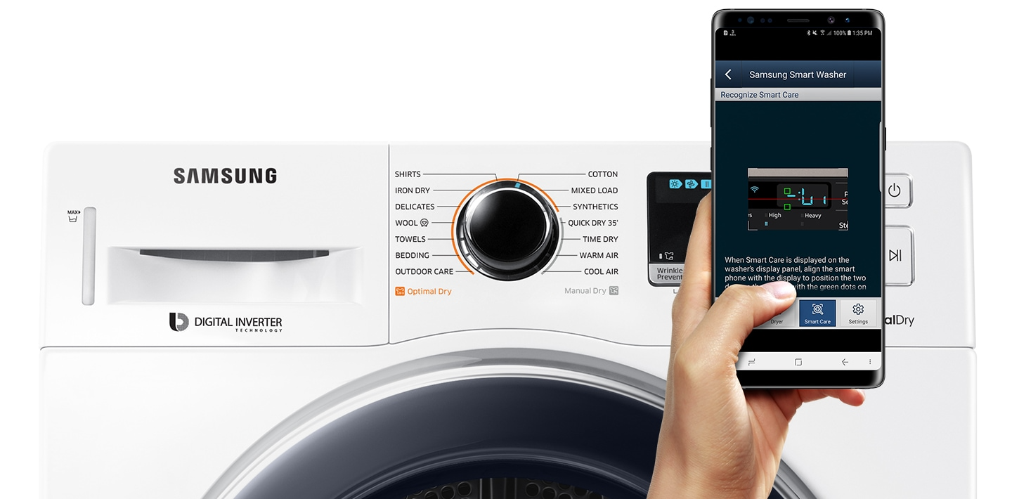 Samsung front load Tumble Dryer with Smart Check