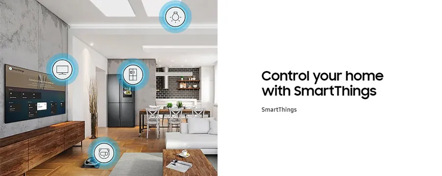 Control your home with SmartThings