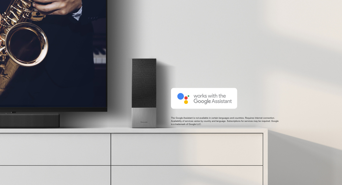 Hands-free control by linking with your Google Assistant