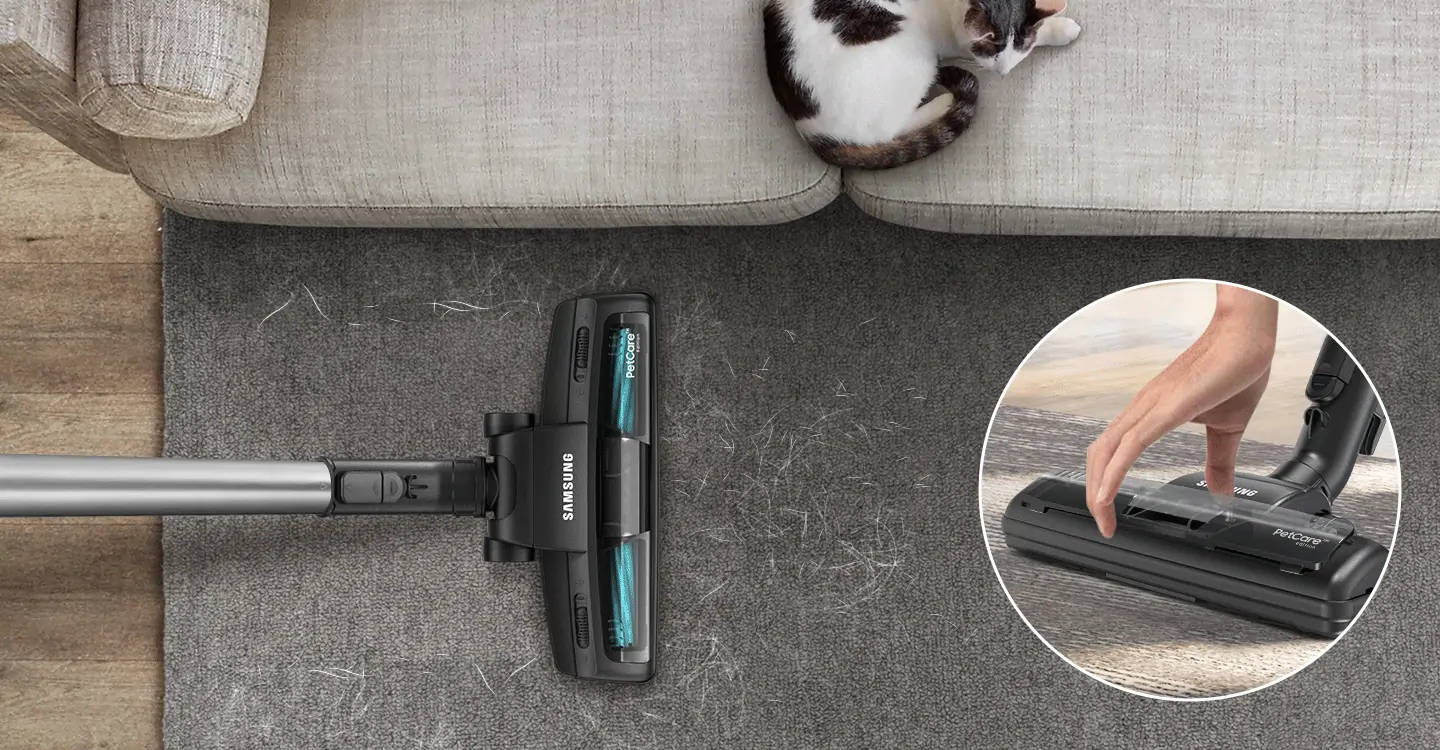 Designed to deep clean homes with pets