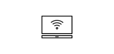 Wi-Fi TV connection