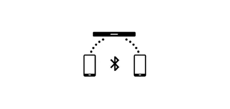 Bluetooth® multi connection icon