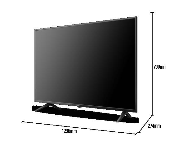 """Description: 55"""" HX655 4K HDR Android TV TH-55HX655K – Google Assistant & Chromecast"""
