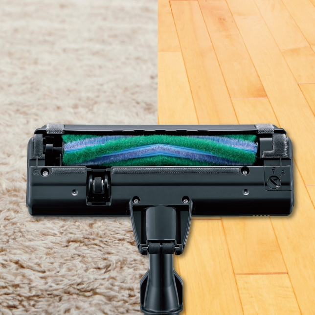 Easily Cleans Carpets, Wood and Other Hard Flooring