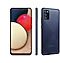 Classic back view of the device in blue along with 1 side and 1 front view to highlight modern matte finish.