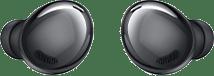 Galaxy Buds Pro earbuds in Phantom Black.