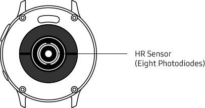 44mm galaxy watch active2 sensor information