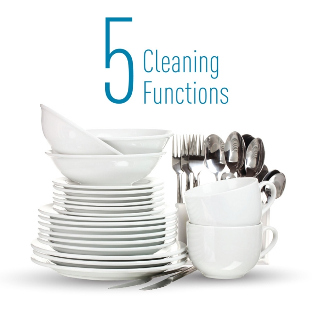High-temperature Steam for Easy Cleaning
