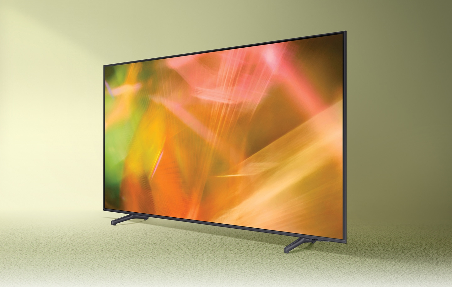 AU8000 displays intricately blended colour graphics which demonstrate vivid crystal colour.