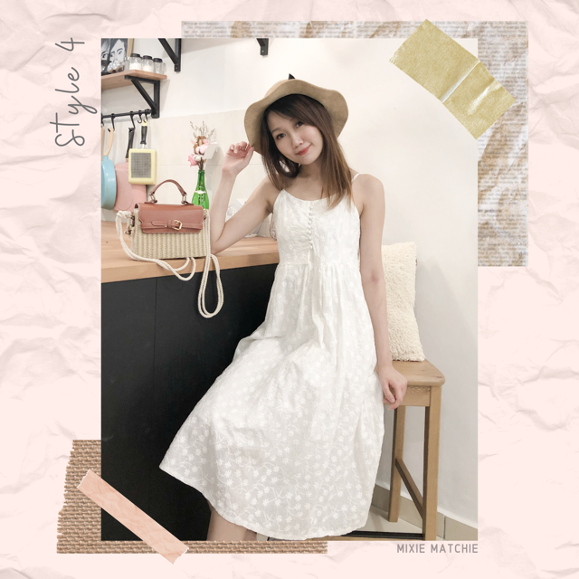 Mixie Matchie lace dress钩花蕾丝