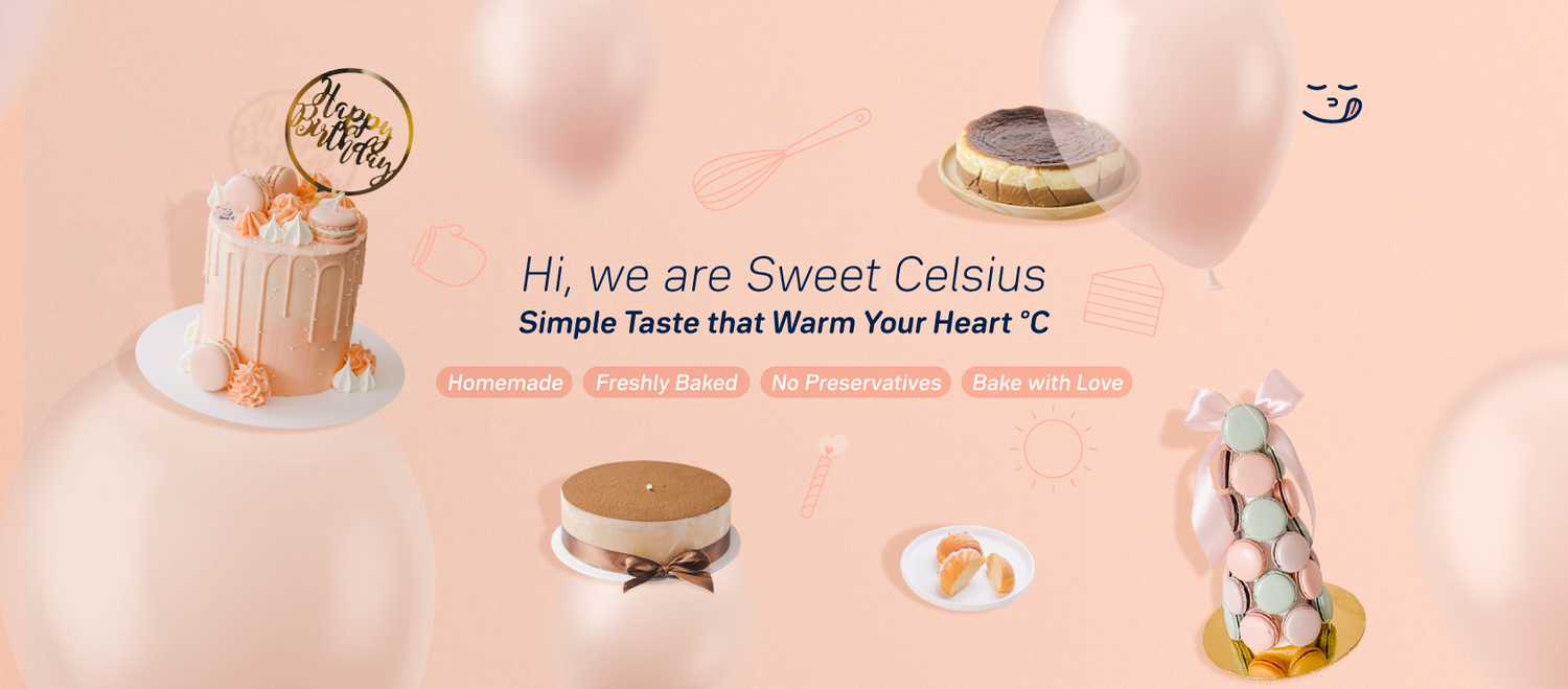 Sweet Celsius - Homemade cake delivery Klang Valley |