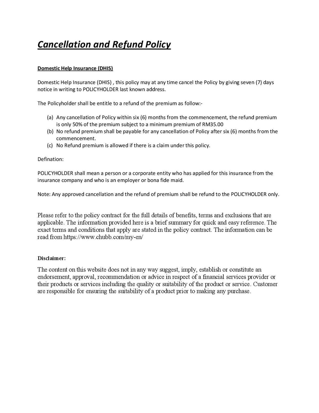 Refund Policy and Disclaimer Maid DHIS-page-001.jpg