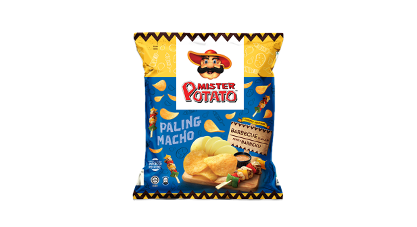 Mister Potato Barbecue Flavour 75g x 12pack.png